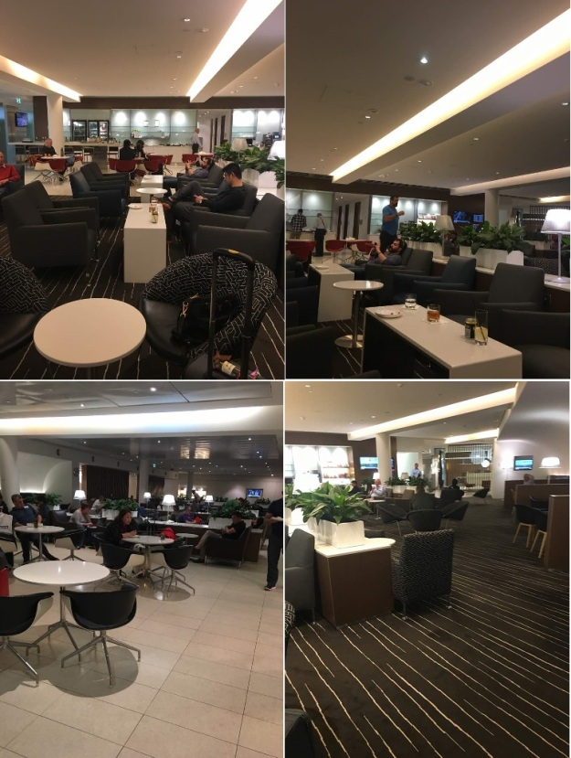 Melbourne Airport Lounge