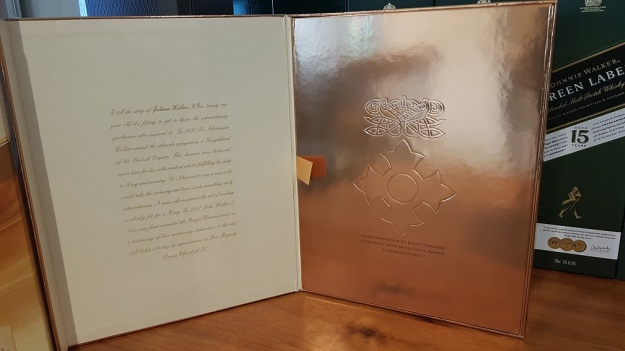 Johnnie Walker XR 21 Years Collector Box Unbox