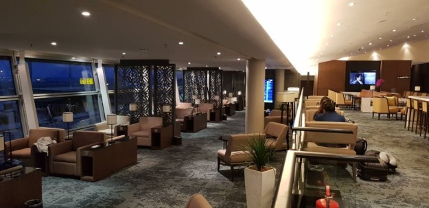 Malaysia Airlines New Golden Lounge KLIA 2018 2