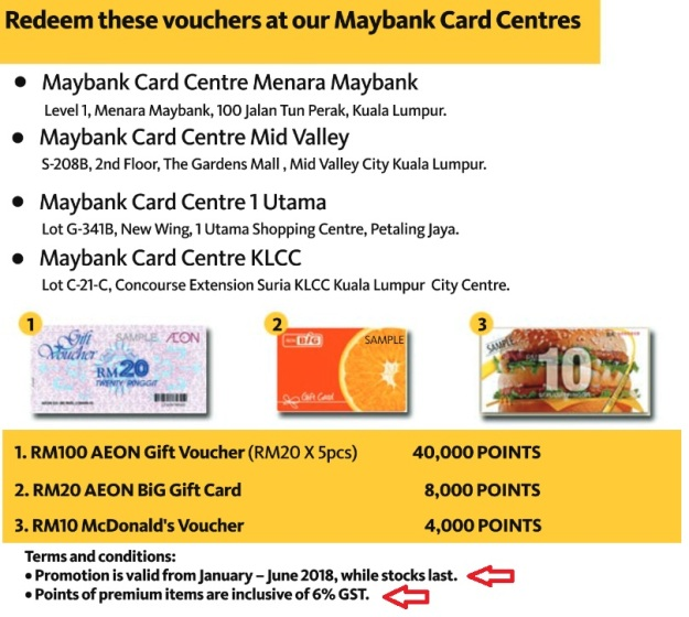 Maybank Treats Points On The Spot