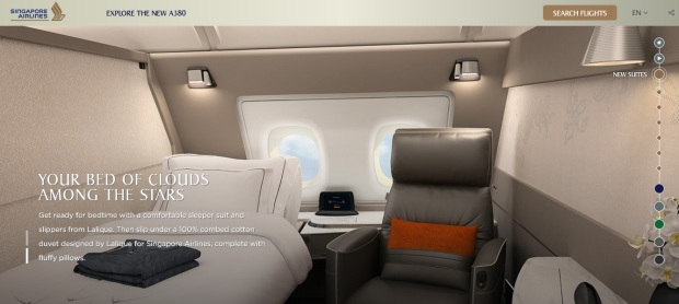 Singapore Airlines A380 Suites 1