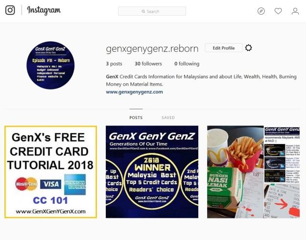 GenX GenY GenZ Reborn instagram