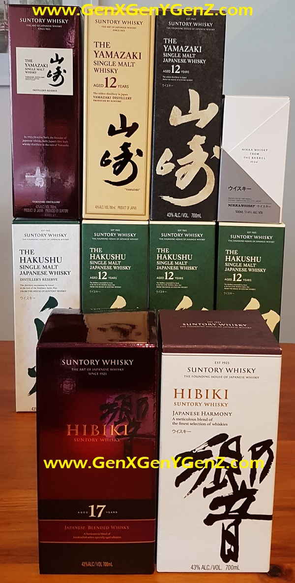 Japanese Whisky Melbourne Oct 2018