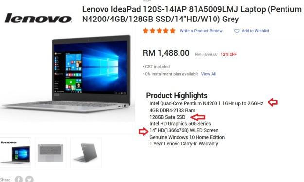 Lenovo 14 SSD