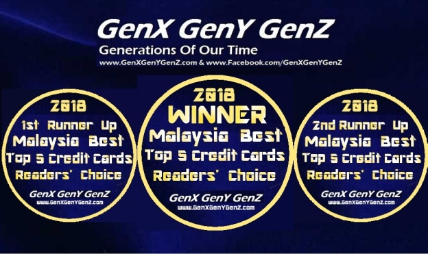 Readers choice award malaysia best top 5 credit cards 2018 genx readers choice award malaysia best top 5 credit cards 2018 reheart Choice Image