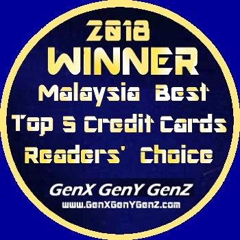Winner Readers Choice Malaysia Best Credit Card 2018
