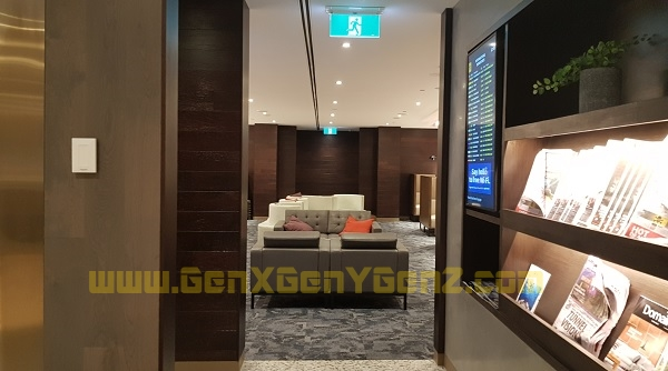 AMEX Lounge Melbourne 3