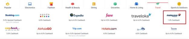 Shopback Travel Discount