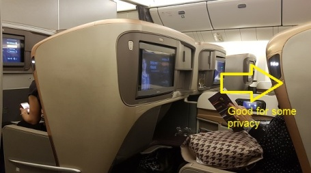 Singapore Airlines Business Class Boeing 777 5