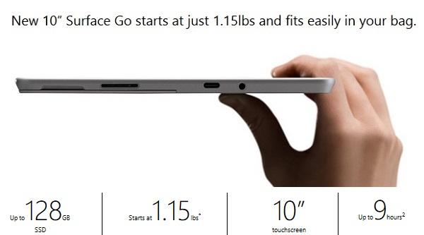 Microsoft Surface Go Malaysia 2