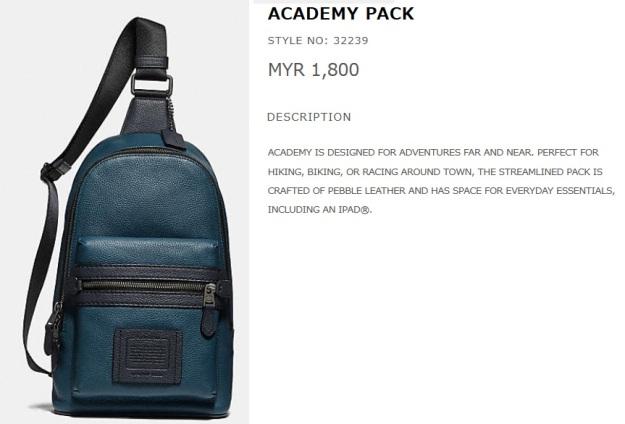 Coach Academy Sling Bag Black Price Malaysia.jpg