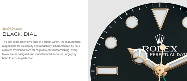 Rolex 18 ct Gold Dial