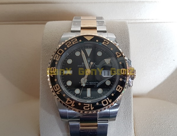 Rolex GMT Half Gold 2018 in Original Box 2