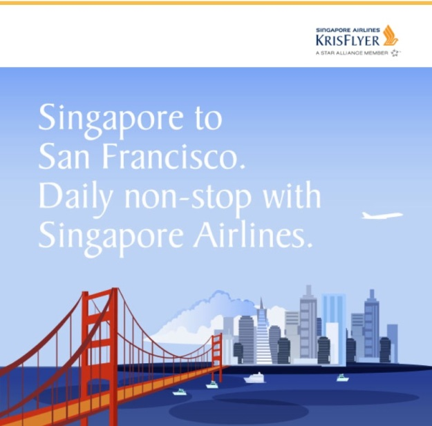 Singapore to San Francisco Non Stop