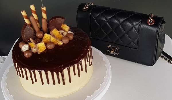 Birthday Cake 2018 with Chanel Flap Limited Edition