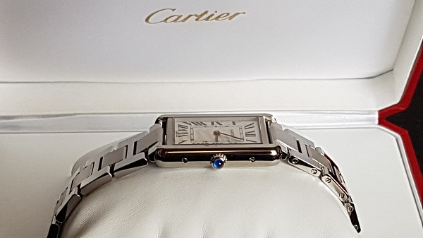 Cartier Tank Solo Large Unboxing 6