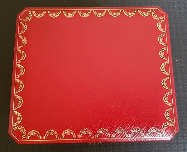 Cartier Watch Box Red