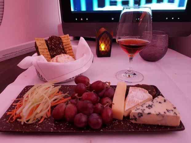 Qatar Business Class Food 4