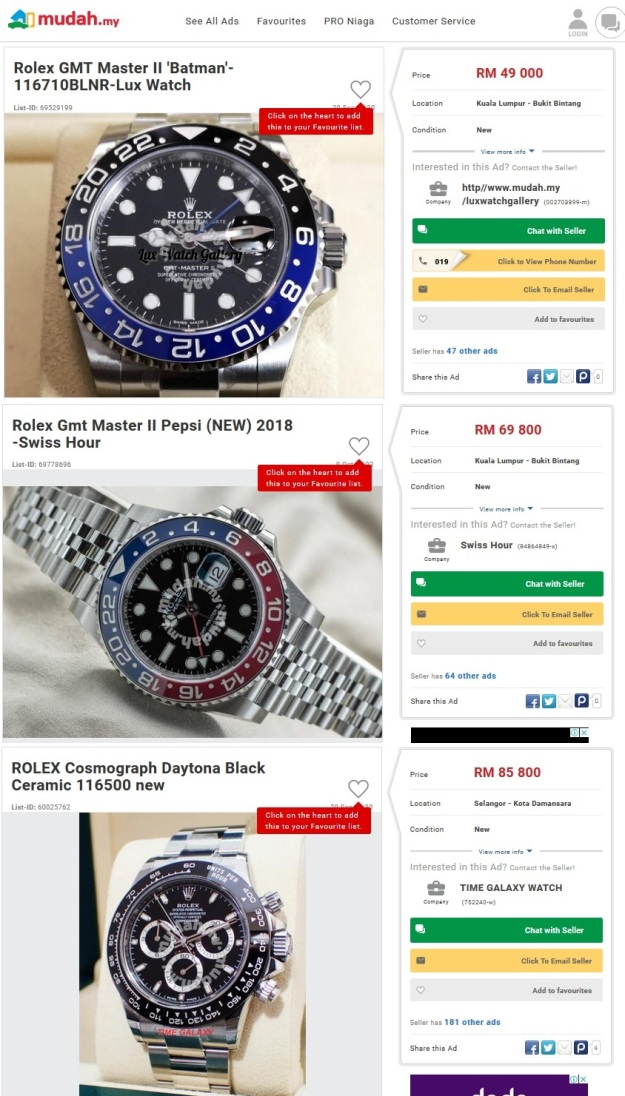 Rolex Part II – GMT Pepsi 126710BLRO and GMT Batman 116710BLNR Price