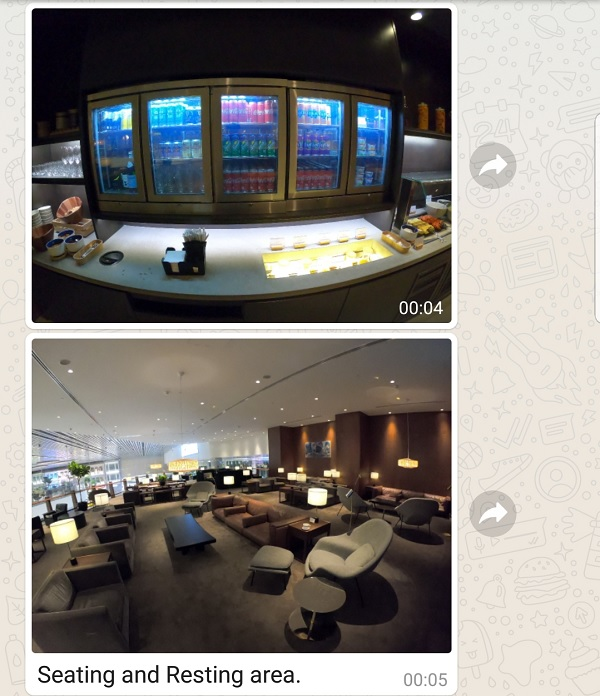Cathay Pacific Business Class Lounge Singapore 2