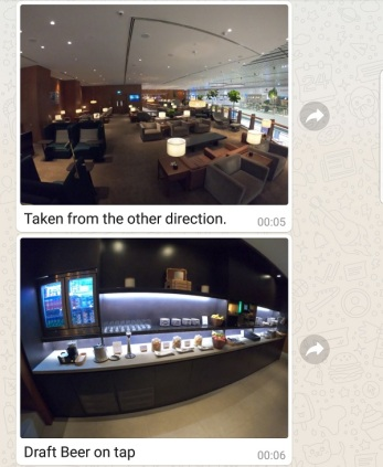 Cathay Pacific Business Class Lounge Singapore 3