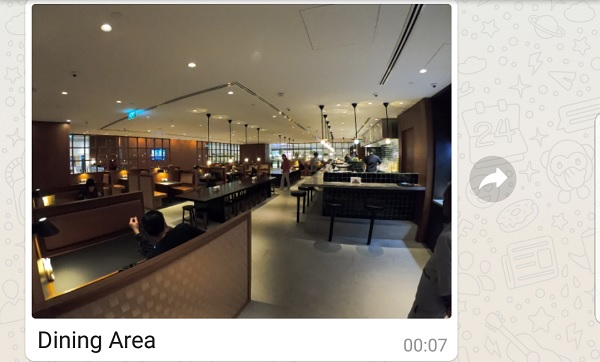 Cathay Pacific Business Class Lounge Singapore 4