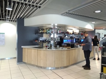 Dusseldorf Lufthansa Business Class Lounge 6