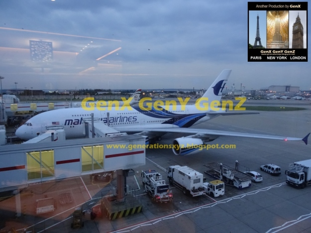 Malaysia Airlines Business Class A380-800