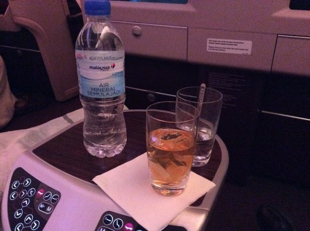 Malaysia Airlines Business Class A380 KL to London 2015 1