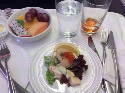 Malaysia Airlines Business Class A380 KL to London 2015 3