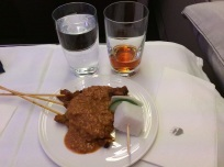Malaysia Airlines Business Class A380 KL to London 2015 4
