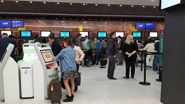 Melbourne Airport Singapore Airlines Economy Class Check In 2