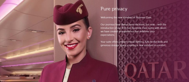 Qatar Airways Business Class Q Suite 1