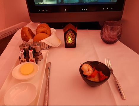 Qatar Airways Business Class Starter