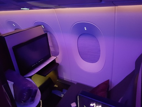 Qatar Airways Q Suites Doha Frankfurt 2