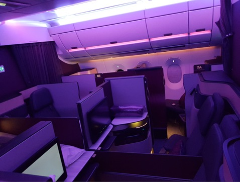Qatar Airways Quad Seats Q Suites 2