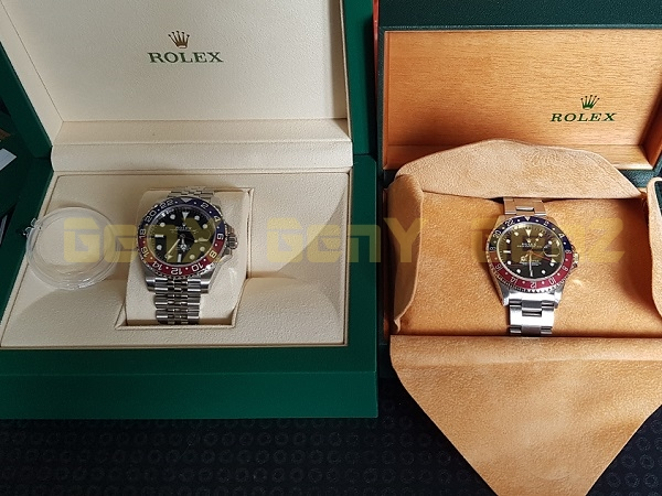 Rolex GMT Master Pepsi 16700 vs 126710BLRO 2018 Photo Review 1