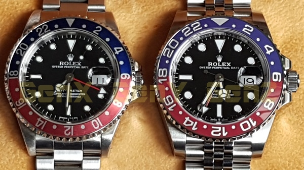 Rolex GMT Master Pepsi 16700 vs 126710BLRO 2018 Photo Review 3