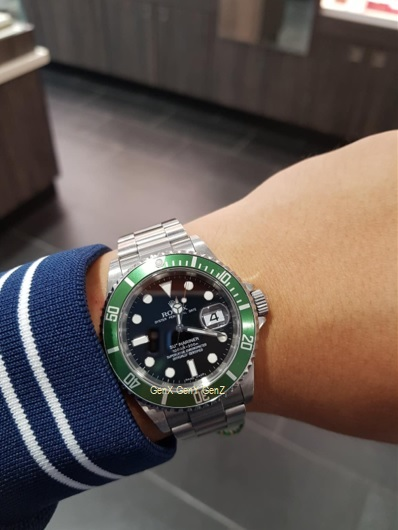 Rolex Submariner 11610LV Live Photo in Europe