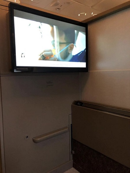 Singapore Airlines Aribus A380 New Suite 5