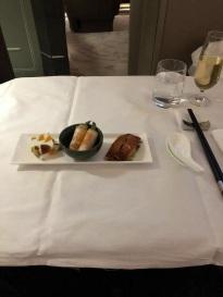Singapore Airlines Aribus A380 New Suite Food 3