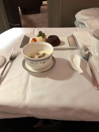 Singapore Airlines Aribus A380 New Suite Food 4