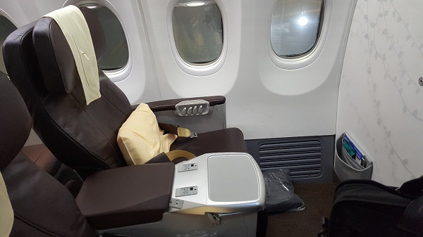 Singapore Airlines Boeing 737 Business Class
