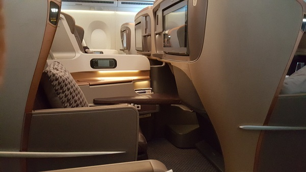 Singapore Airlines South Africa to Singapore Business Class 1