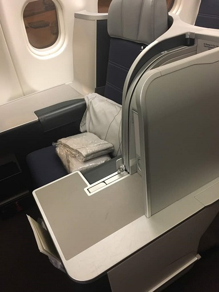 MAlaysia Airlines Business Class Lounge Brisbane to KL 3