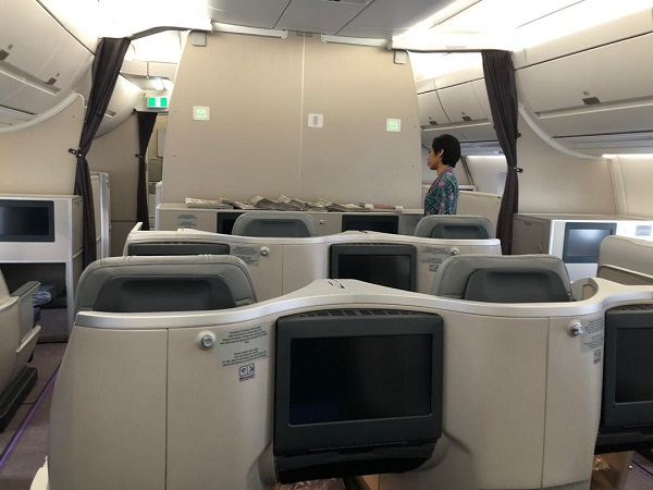 Malaysia Airlines Buisness Class A350 Kuala Lumour London Review 1