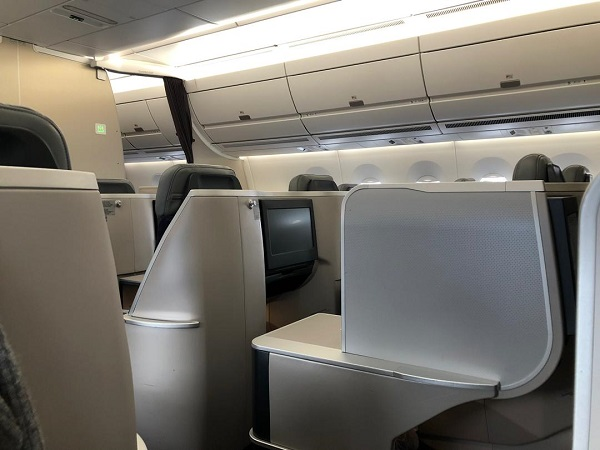 Malaysia Airlines Buisness Class A350 Kuala Lumour London Review 4