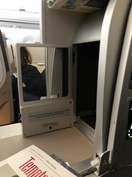 Malaysia Airlines Buisness Class A350 Kuala Lumour London Review 7a