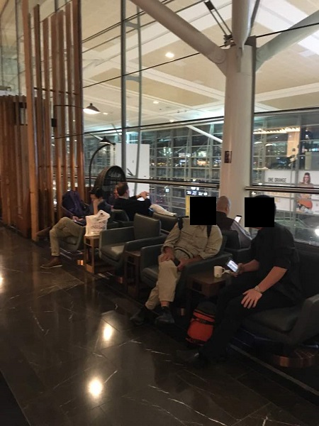 Malaysia Airlines Business Class Lounge Brisbane 2