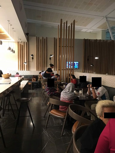 Malaysia Airlines Business Class Lounge Brisbane 3